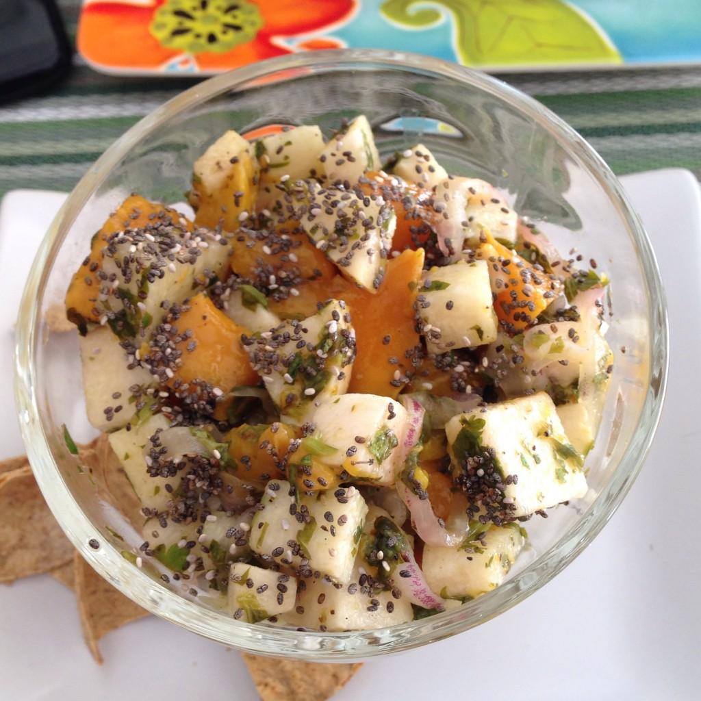mango jicama ceviche