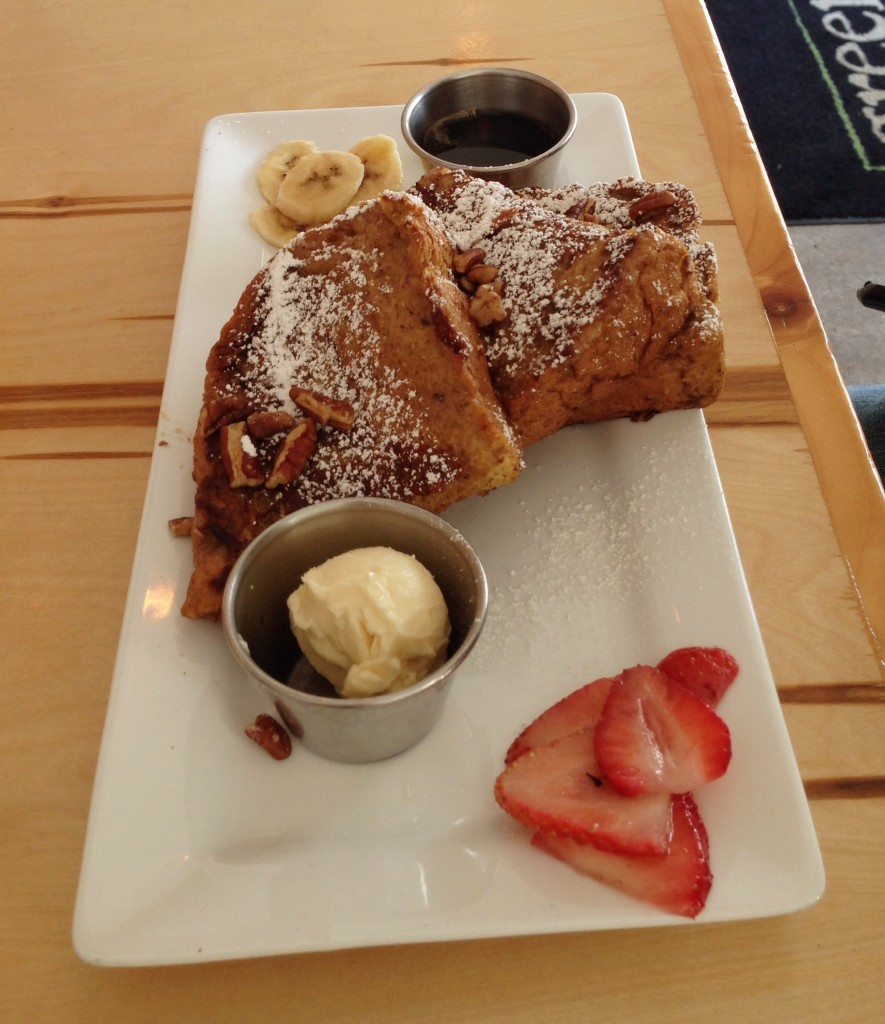 vegan gluten free pumpkin french toast