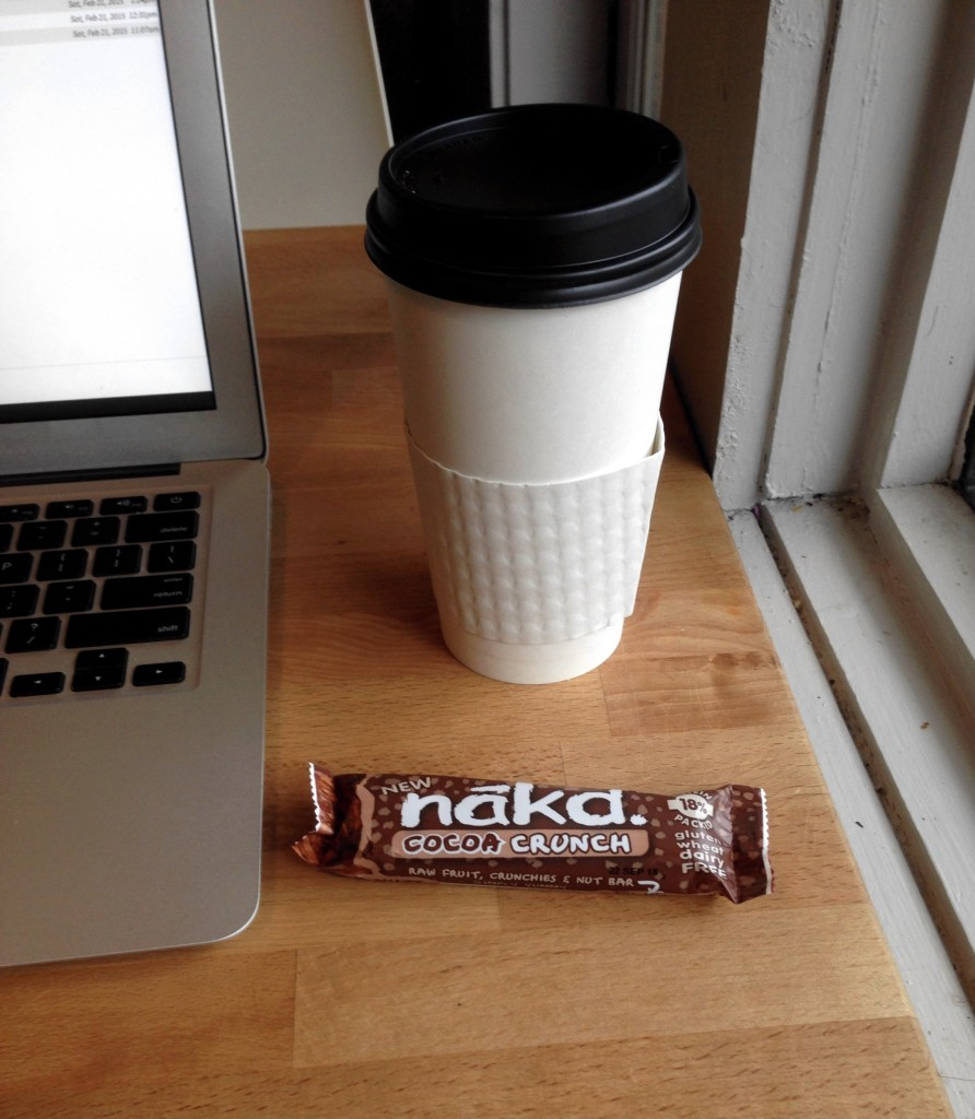 cocoa crunch nakd snack bar