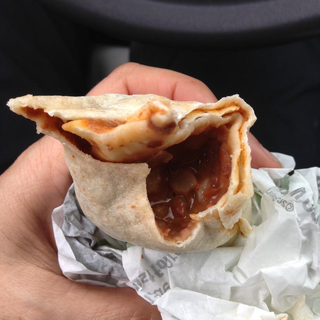 taco bell bean burrito