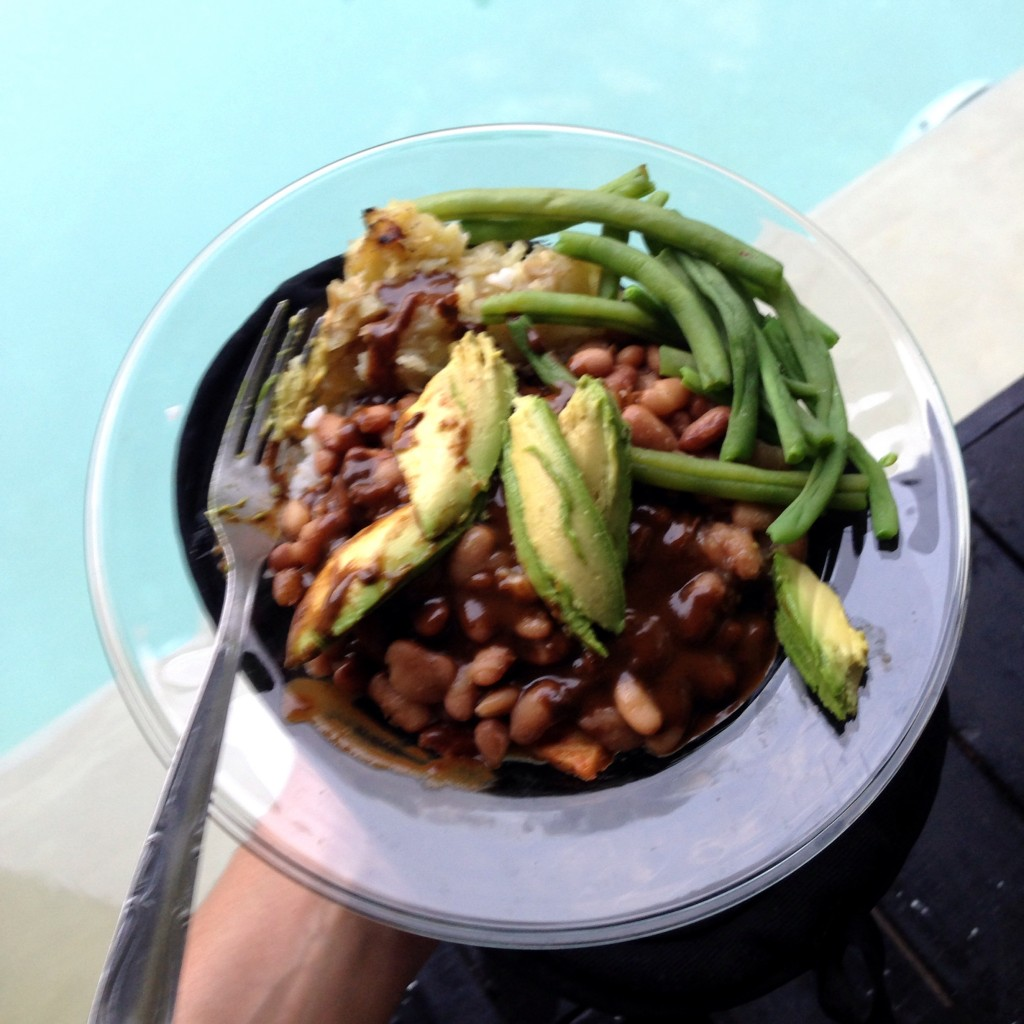 vegan mexican food bowl