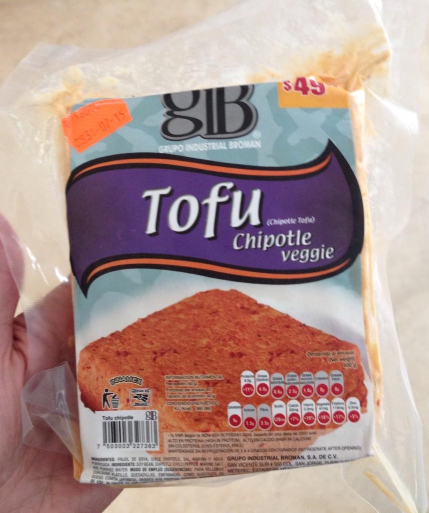 seasoned tofu in mexico