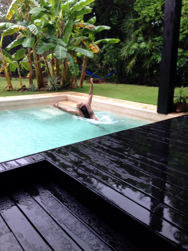 pool break
